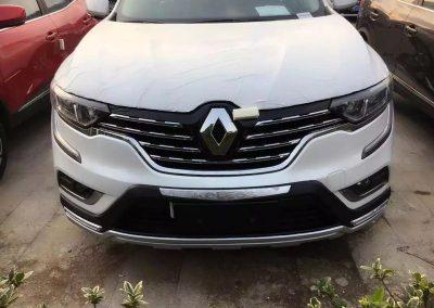 Ampliación bumper frontal Renault Koleos