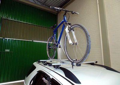 Porta bicilceta de techo x1