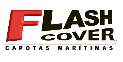 Logotipo de marca Flash Cover